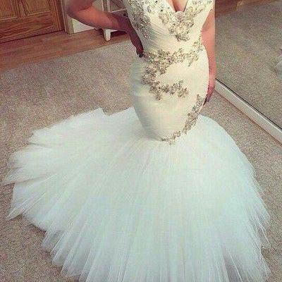 Cheap wedding dresses 2017,White We..