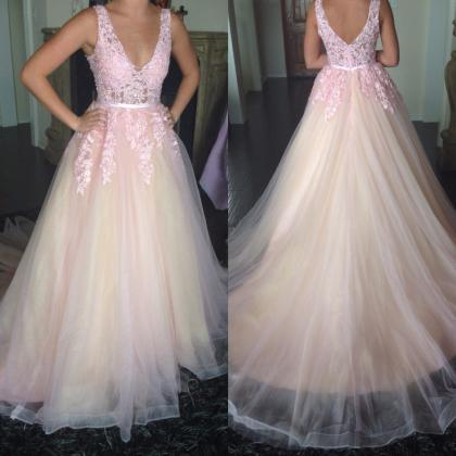 Cheap prom dresses 2017,Light Pink ..
