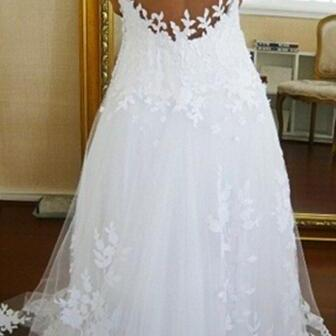 Ball Gown Lace Wedding Dresses, Wed..