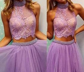 Prom Dress lavender ..