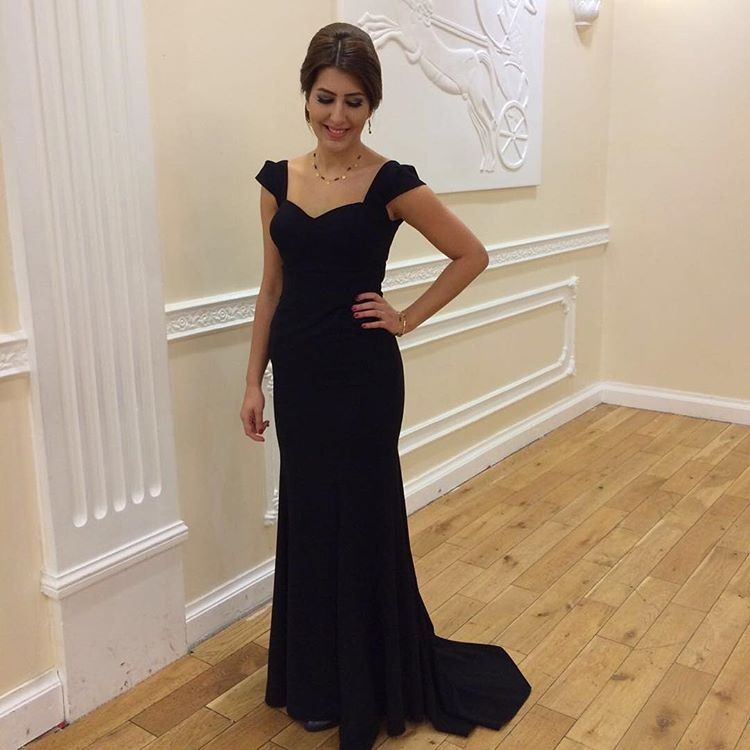 Cheap prom dresses 2017,Evening Dress,Cap Sleeve Evening Dresses,Elegant Evening Gown,Formal Women Dress