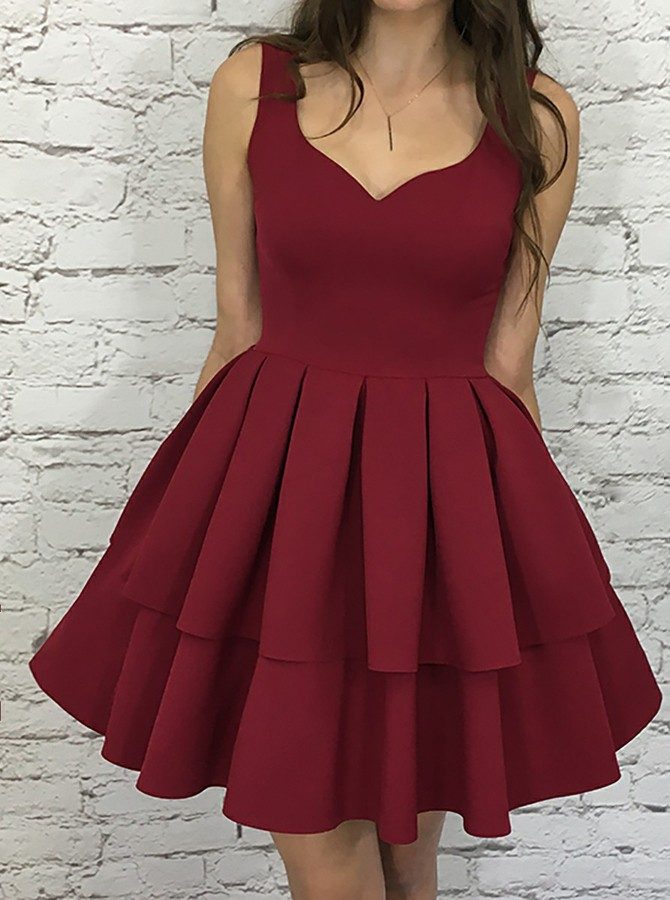 5f164602ba6 Burgundy Homecoming Dresses