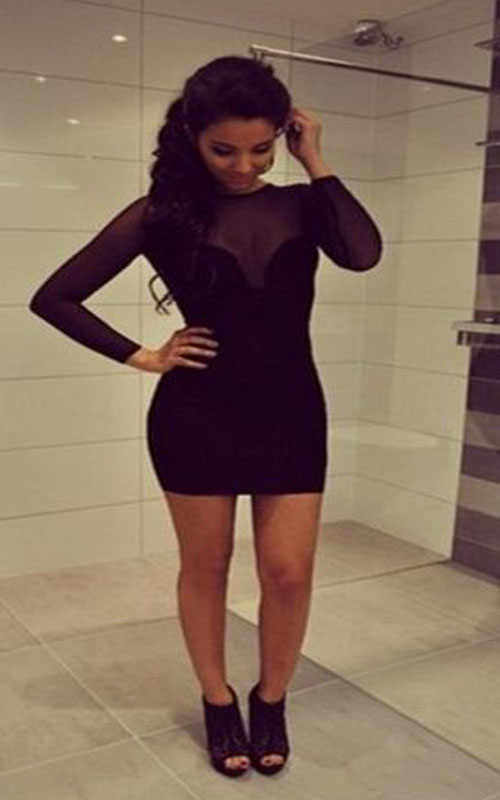 Short Homecoming Dressblack Homecoming Dresstight Homecoming Dress