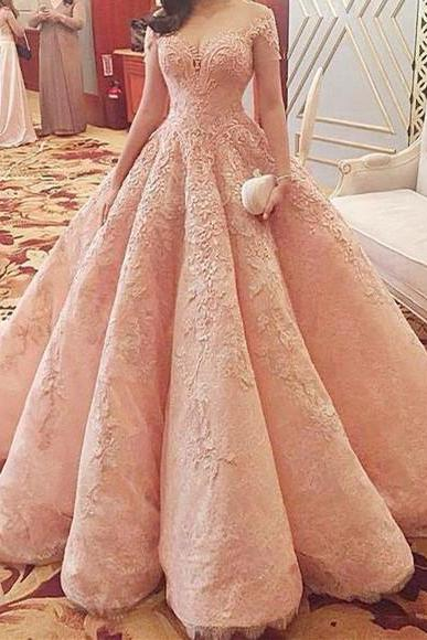 Cheap wedding dresses 2017,Wedding Dresses,2017 Wedding Gown,Lace Wedding Gowns,Bridal Dress,Wedding Dress,Brides Dress,Vintage Wedding Gowns,Wedding Dress Modest Quinceanera Dress,Pink Ball Gown,Applique Prom Dress,Fashion Prom Dress,Sexy Party Dress, New Style Evening Dress