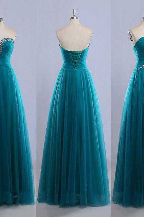 Cheap prom dresses 2017,Sweetheart Floor-length Ball Gowns,