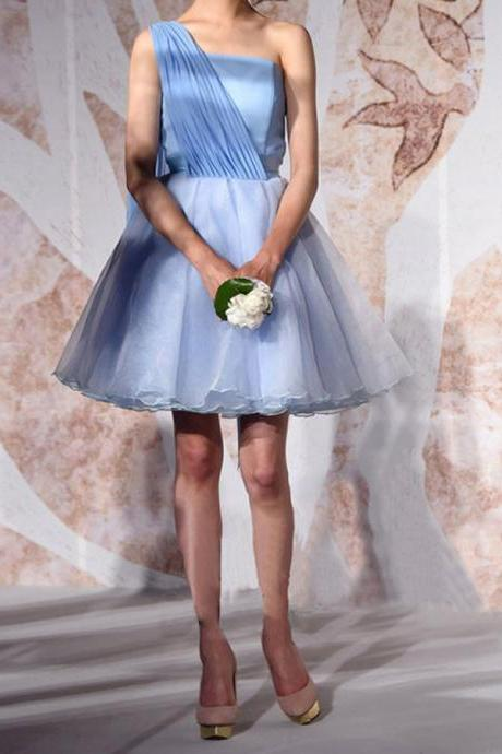 Cheap homecoming dresses 2017,Short Tulle A-Line Homecoming Dress Featuring Strapless