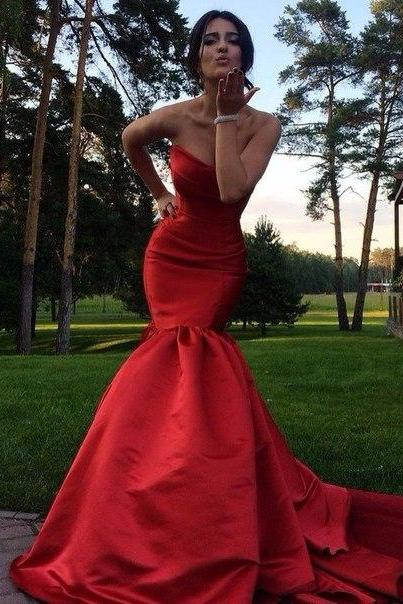 Cheap prom dresses 2017,2017 Sexy Cheap Unique Evening Dresses Mermaid