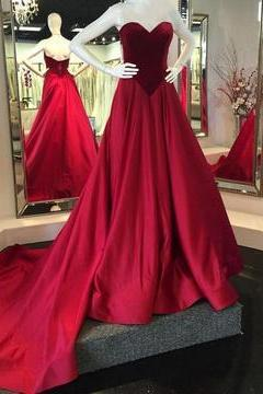 Sexy Sleeveless Prom Dresses, Elegant Long Evening Dress