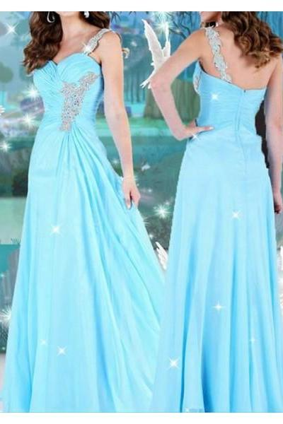 Formal Dresses Prom Dresses blue sweetheart prom dress
