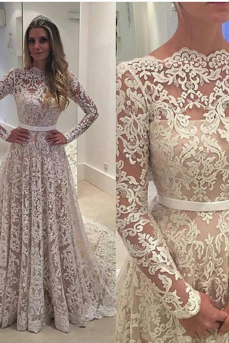 Cheap prom dresses 2013 Long Sleeve Prom Dress,Lace Prom Dress,Fashion Bridal Dress,Sexy Party Dress,Custom Made Evening Dress