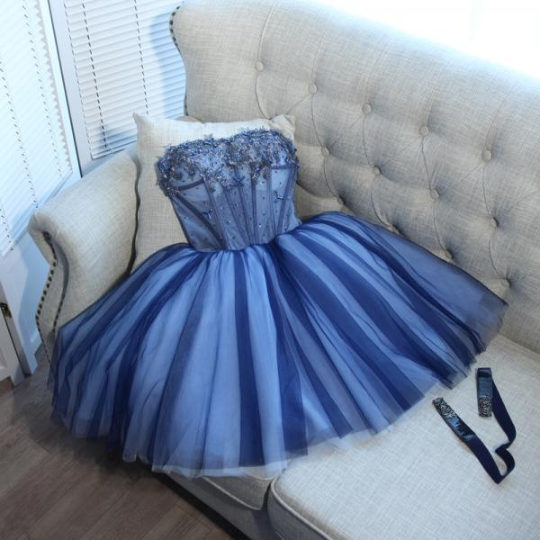 Cheap homecoming dresses 2017,short homecoming dresses,A-line Sweetheart Short Mini Tulle Short Prom Dress Homecoming Dresses