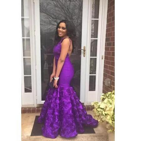 Cheap prom dresses 2017,South African Purple Mermaid Prom Dresses 2017 Sexy Backless Sleeveless Evening Gowns Ruched Sweep Train Arabic Women Formal Vestidos