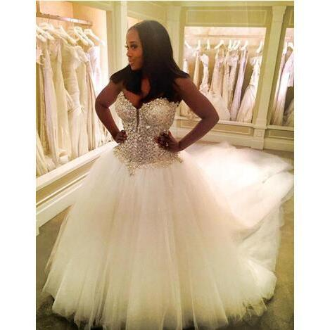 Cheap wedding dresses 2017,Nigerian Lace 3 METERS Wedding Dresses Custom Made Plus Size Open back Tulle Puffy Bridal Gowns Arabic Pnina Totnai Wedding Dress