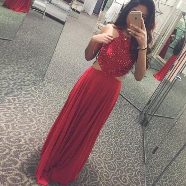 Cheap prom dresses 2017,Charming Prom Dress,Sexy Red Prom Dress,Chiffon Evening Dress,Long Prom Dresses,Sexy Party Dress