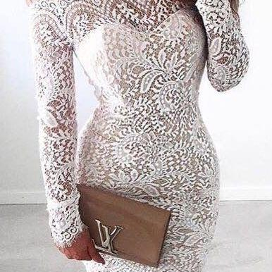 White Homecoming Dress,Lace Homecoming Gown,Lace Homecoming Dresses,Bodice Sexy Mini Dress