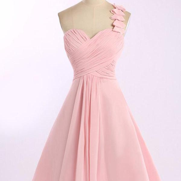 one shoulder homecoming dress,,sweetheart homecoming dress,chiffon homecoming dress